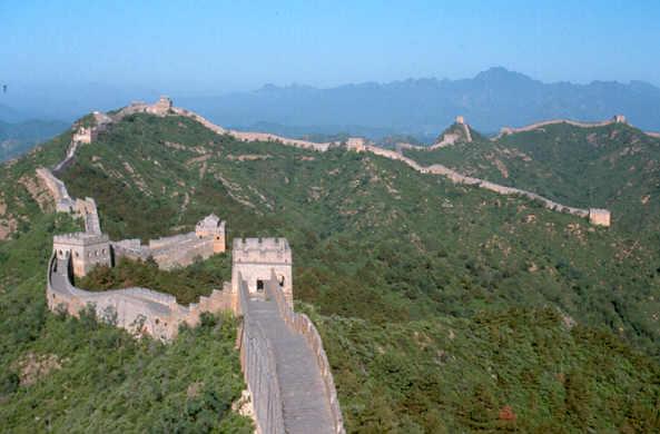 Chinese muur casa contentos - Muur van de ingang ...